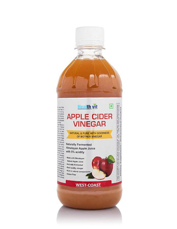 HealthVit Apple Cider Vinegar with Mother Vinegar review