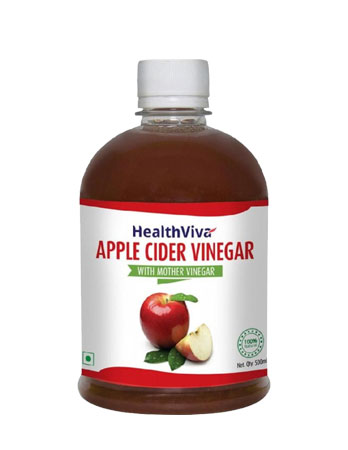 HealthViva Apple Cider Vinegar with Mother review