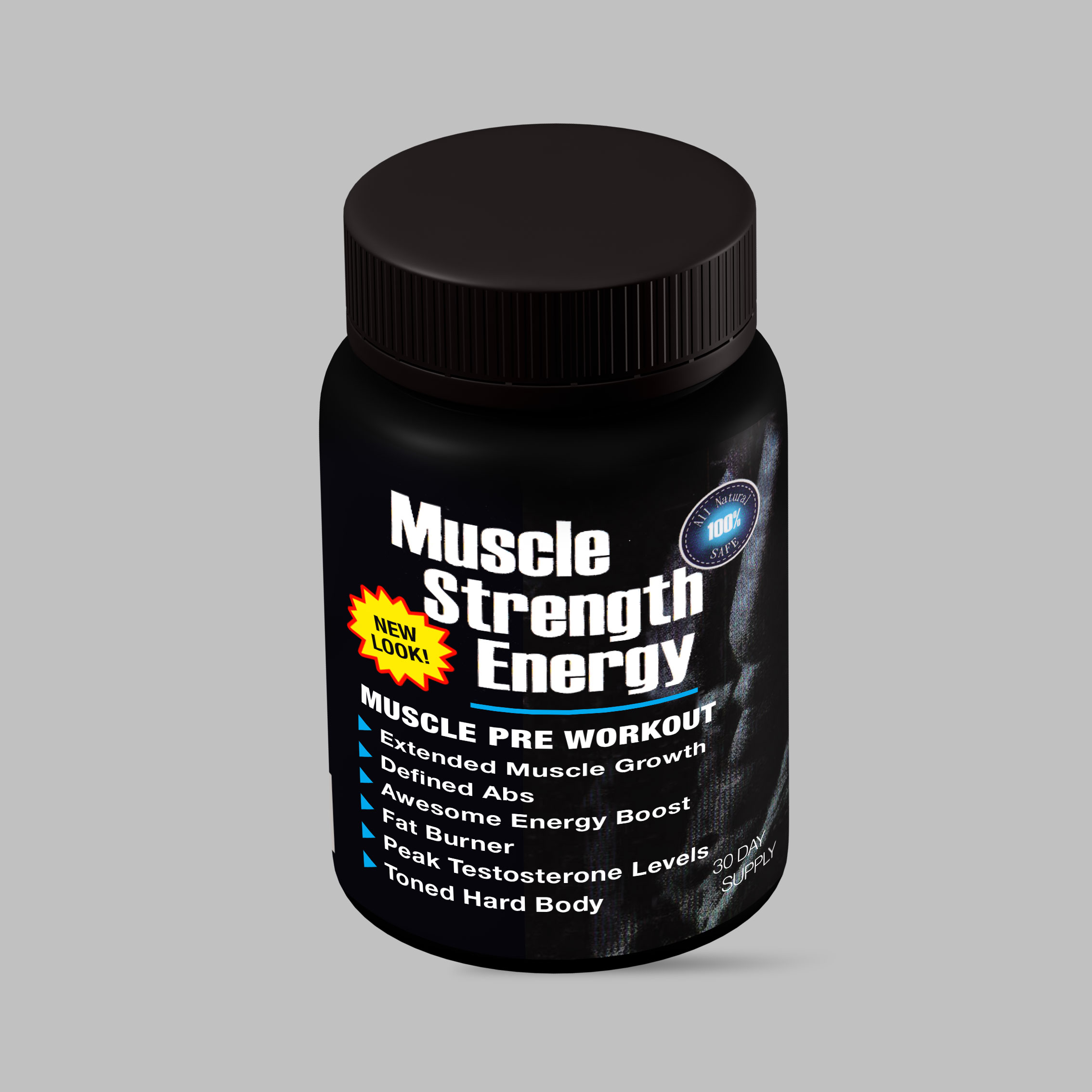 MUSCLE STRENGTH ENERGY