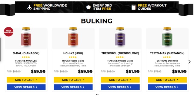 Bulking stack for hardgainers