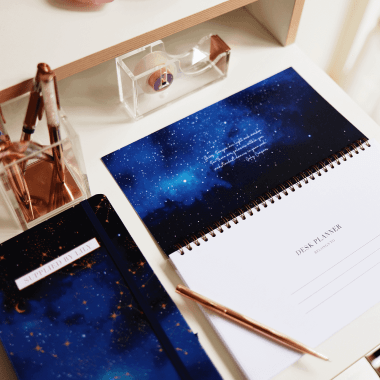 Student Desk Planner in Luxurious Astrology (Limited Edition)