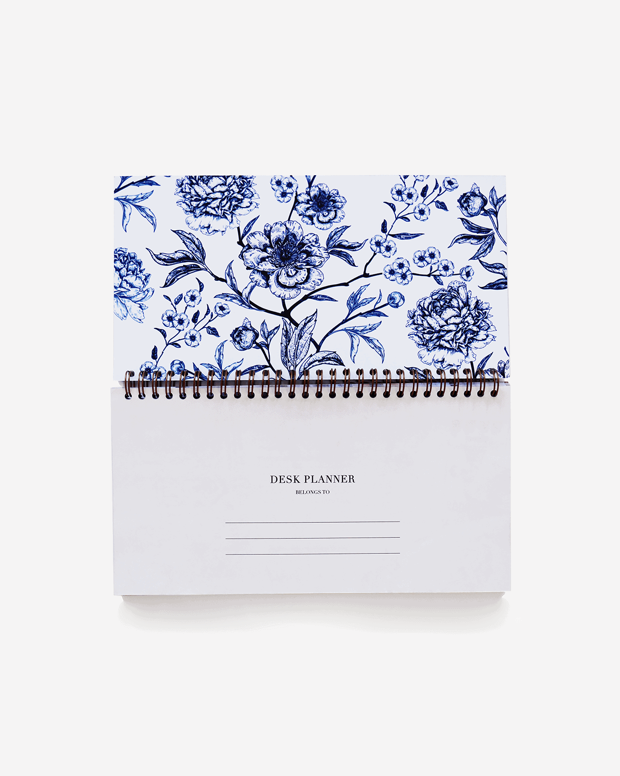 Supplied by Lily Desk Planner in Luxurious Toile de Jouy