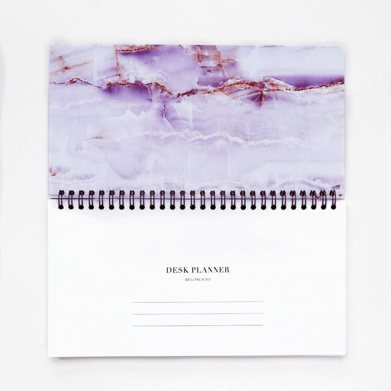 Student Desk Planner in Luxurious Amethyst