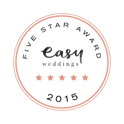 Quick Creations is an Easy Weddings Five-Star Supplier for 2015