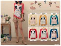Panda sweater - idr49 - sweater - fit to L