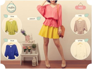 152 rayon - ecer@56rb - seri5w 250rb - fit to L