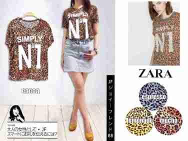 Zara Simply No1 - ecer@42 - seri4w 144rb - bahan Spandex licin fit to XL
