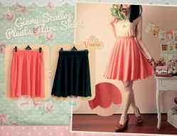 Ginny Scallop Flare - ecer@67 - seri4pcs 248rb - bhn wedges HQ