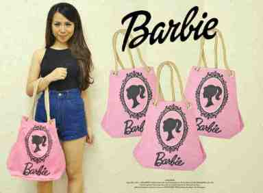 BARBIE BAG - ecer@61 - seri3pcs 168rb - jeans asli