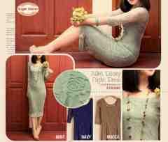 Julliet Lacey Dress - ecer@74rb - seri3pcs 204rb - Soft Lace HQ + furing