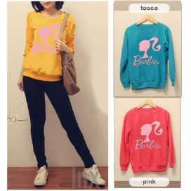 Barbie Ponytail Sweater - ecer@49rb - seri3w 129rb - babyterry - fit to xl