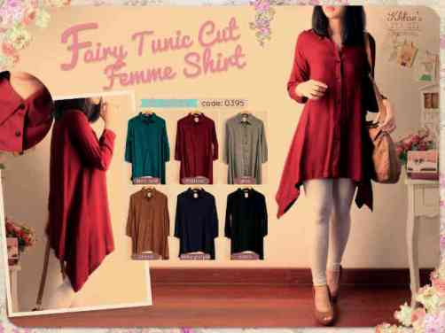 Fairy Tunic Cut - ecer@66rb - seri6w 360rb - fit to XL - rayon