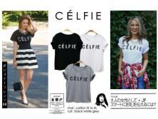 CELFIE t-shirt - ecer@38rb - seri4pcs 132rb - bahan Kaos - fit to XL