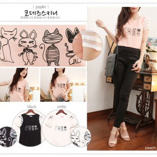Mummy Kitty - ecer@64rb - seri3pcs 174rb - crepe - fit to L