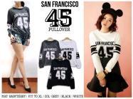SF45 Pullover - ecer@55rb - seri3w 150rb - babyteri + Velvet Pribahan - fit to XL
