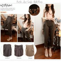Batik List Roll Pants - ecer@59rb - seri4w 212rb - katun - fit to L