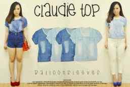 Claudie Top - ecer@67rb - seri4pcs 244rb - jeans asli - fit to L
