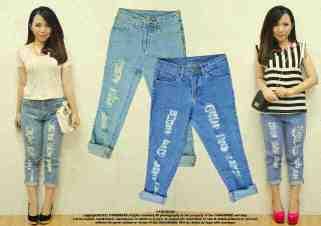 CP - ecer@82rb seri4pcs(M&L) 308rb - bahan jeans