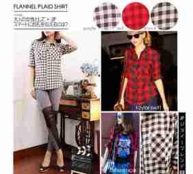 Flannel Plaid Shirt - ecer@77rb - seri3w 216rb - bahan Flannel (tebal & bulu halus) - fit to L