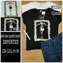 IMPORT - Miss Independent - ecer@55rb - seri4pcs 200rb - kaos spandex import - fit to L