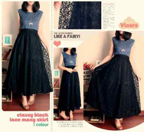 CBL Maxi - ecer@66rb - seri4pcs 240rb - high quality lace + full furing + karet belakang - fit to L