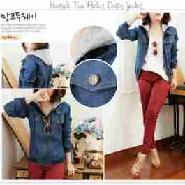 Hannah Pocket Jeans - ecer@83rb - seri4pcs 308rb - jeans - fit to L