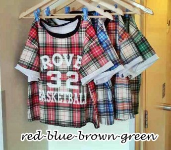 IMPORT - Grover 32 Tartan - ecer@62 - seri4w 224rb - bahan flanel - fit to L