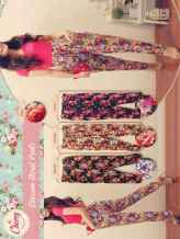 Blossom Floral Pants - ecer@59 - seri4w 216rb - rayon - fit to L