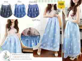 F106 - ecer@63rb - seri4w 228rb - denim+karet belakang - Fit to L