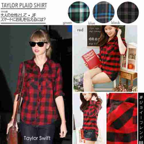 Taylor Plaid Shirt - ecer@77rb - seri4w 288rb - bahan Flannel - fit to L