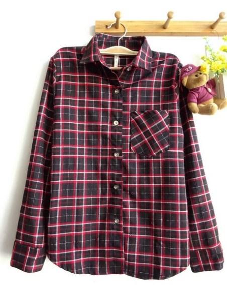 Mexico Tartan Shirt (black) - ecer@83rb - seri4w 312rb - flanel - fit to L