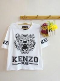 Oversized Kenzo Tee (white) - ecer@46rb - seri4pcs(2warna) 168rb - kaos - fit to XL - di lengan baju tulisan 'KENZO'.JPG