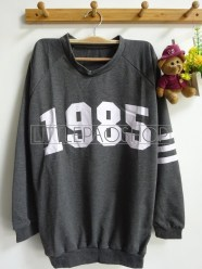 1985 Loose Sweater (grey) - ecer@62rb - seri3w 174rb - babyterry - fit to L -