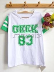 Rainbow GEEK 83 Tee (green) - ecer@45rb - seri3w 120rb - kaos - fit to L