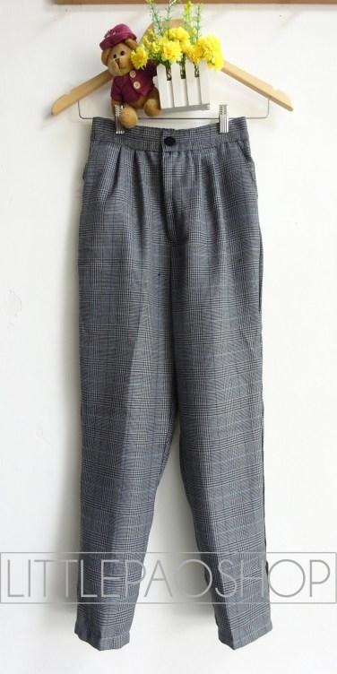 Grandpa Joe Baggy Pants (motif B) - ecer@78rb - seri3w 219rb - woolen import (tebal) - fit to uk 29