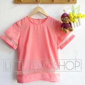 Lolita Organza Top - ecer@75rb - seri6w 420rb - twistcone premium tebal+organza + fit to L