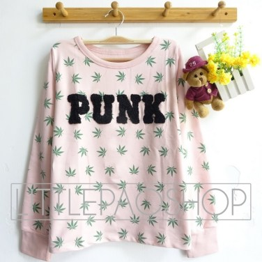 Punk 3D Sweatshirt - ecer@68rb - seri4w 252rb - babyterry - fit to L