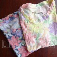 Ripped Flowery Shirt Detail