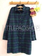 Orin Long Shirt (green) - ecer@90rb - seri4w 340rb - flanel - fit to XL (bisa dipakai sebagai outer)