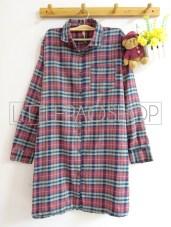 Orin Long Shirt (grey) - ecer@90rb - seri4w 340rb - flanel - fit to XL (bisa dipakai sebagai outer)