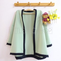 Pentatonic Kimono Outer (green) - ecer@63rb - seri5w 290rb - twiscone - fit to L