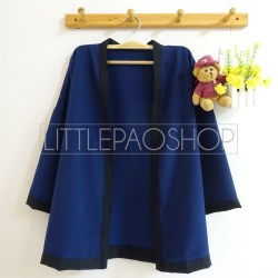 Pentatonic Kimono Outer (navy) - ecer@63rb - seri5w 290rb - twiscone - fit to L