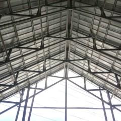 Kanopi Baja Ringan Kebumen Supplier Distributor Konstruksi Rangka Atap Bali