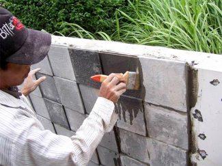 Pemasangan Batu Alam | Sumber gambar : images.google.com