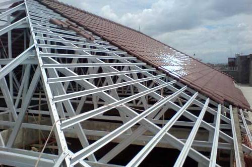 harga baja ringan murah depok pasang atap rangka kanopi