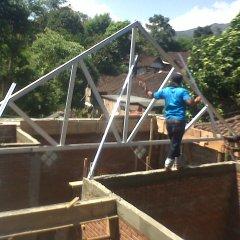 Pasang Canopy Baja Ringan Depok Atap Rangka Kanopi Harga