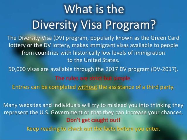 Diversity Program Visa 2011
