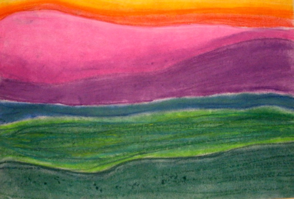medium resolution of The smARTteacher Resource: Wolf Khan Inspired Landscapes