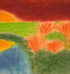 The smARTteacher Resource: Wolf Khan Inspired Landscapes [ 2352 x 3509 Pixel ]
