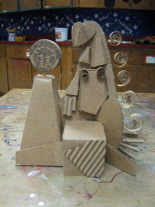 Art Lesson Plans for Cardboard Sculptures